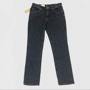 Lee Jeans Women's 14 M straight Leg Slimming Fit